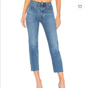 Levi's NWT wedgie straight jeans size 27